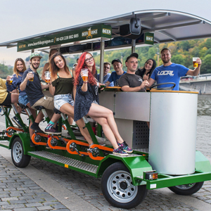Beer Bike Prague